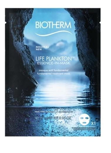 Biotherm Life Plankton Essence İn Mask 27 Gr - Cilt Maskesi Renksiz